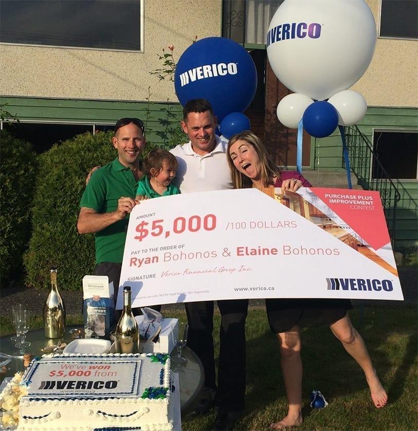 Kelowna Mortgage Brokers Verico Contest Winner