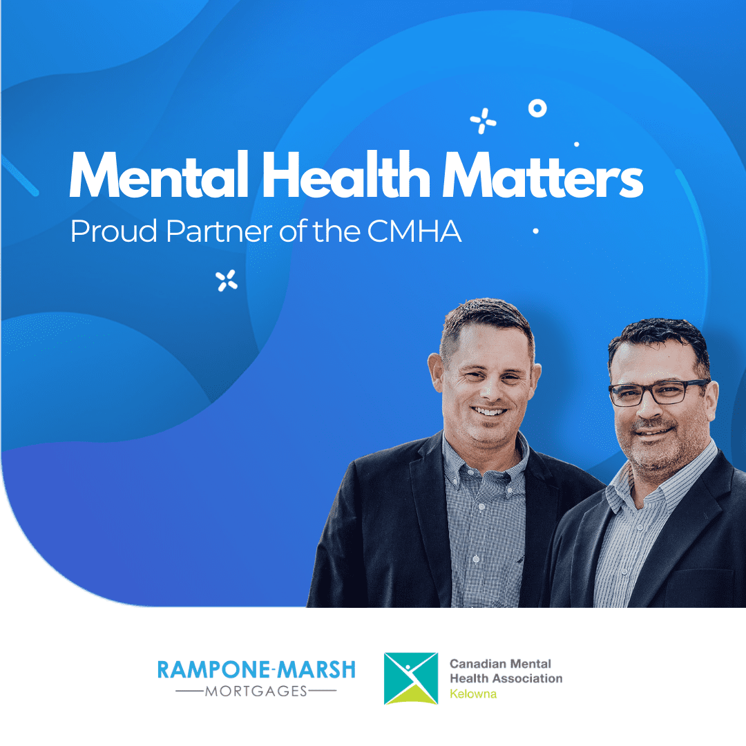 Lennie Rampone and Aaron Marsh of the Mental Health Matters Campaign